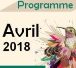 Programme Avril 2018