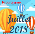 Programme vacances de juillet