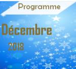 Programme Décembre
