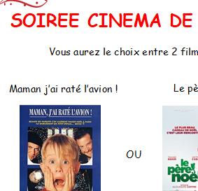 Soirée cinéma