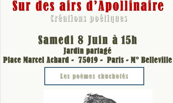 Réstitution Apollinaire