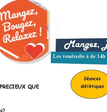 Parcours santé seniors (Manger, Bougez, Relaxez !)