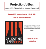 Projection débat avec Association France Palestine (AFPS)