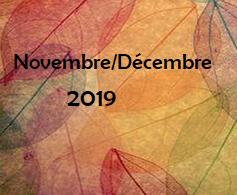 Programme de novembre et décembre