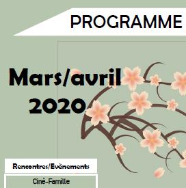 Programme de Mars/Avril